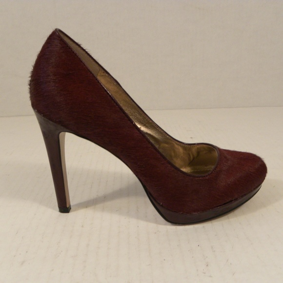 03e12284cf1 BCBGeneration Tina S2 Pumps High Heel 7 M Hair Red